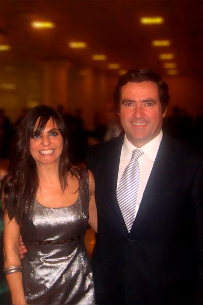 Ana Cancelas y Antonio Garamendi