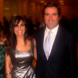 Antonio Garamendi y Ana Cancelas
