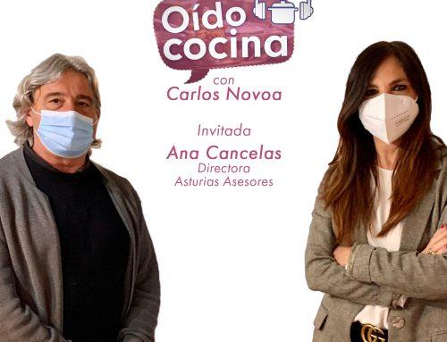 """Ana Cancelas en """"Oído Cocina"""""""